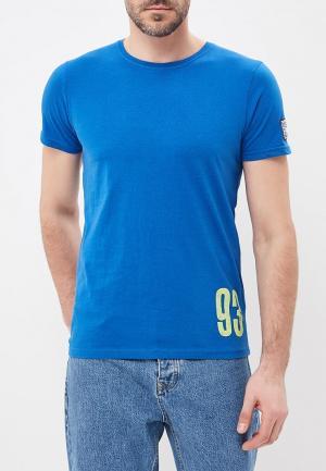 Футболка E-Bound. Цвет: синий