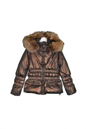 Куртка Manudieci. Цвет: коричневый