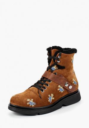 Ботинки Grand Style. Цвет: коричневый