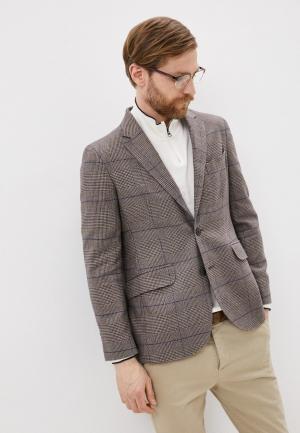 Пиджак Hackett London. Цвет: коричневый