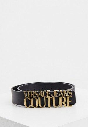 Ремень Versace Jeans Couture. Цвет: черный