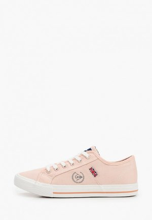 Кеды Dunlop. Цвет: розовый