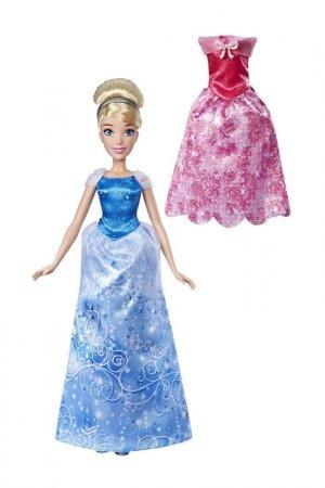 Кукла Золушка с нарядами DISNEY PRINCESS. Цвет: синий