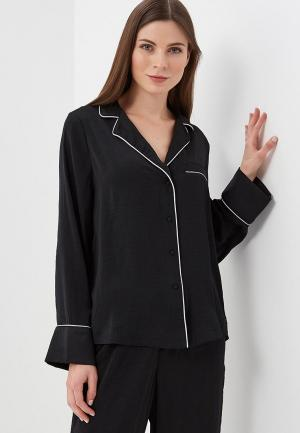 Рубашка домашняя Gap. Цвет: черный