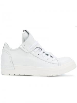 Хайтопы на шнуровке Cinzia Araia. Цвет: белый