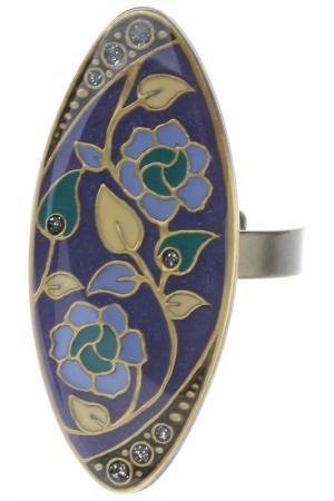 Кольцо CLARA BIJOUX. Цвет: фиолетовый