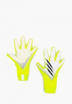 Перчатки вратарские adidas. Цвет: желтый