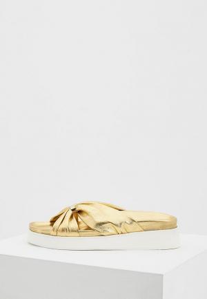 Сабо John Galliano. Цвет: золотой