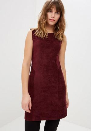 Платье Miss by Valentina. Цвет: бордовый