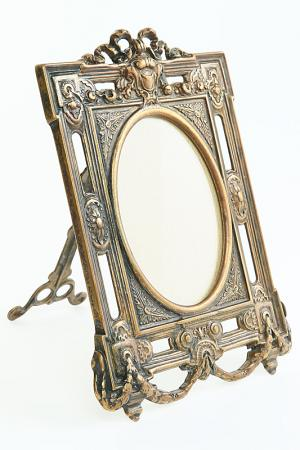 Рамка для фотографий Луи XVI Stilars. Цвет: бронза