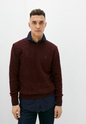 Джемпер Polo Ralph Lauren. Цвет: бордовый