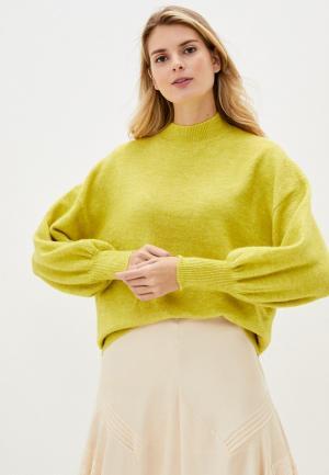 Свитер Vero Moda Curve. Цвет: зеленый