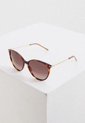 Очки солнцезащитные Boss. Цвет: коричневый