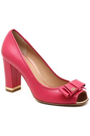 Туфли открытые Giovanni Fabiani. Цвет: розовый