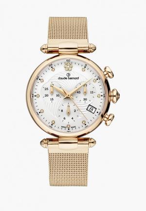 Часы Claude Bernard. Цвет: золотой