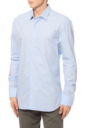 Рубашка Baldessarini. Цвет: голубой