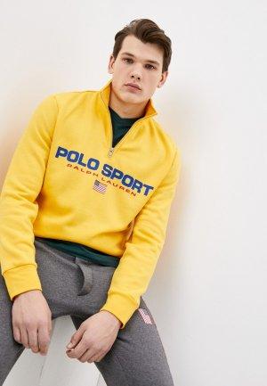Олимпийка Polo Ralph Lauren. Цвет: желтый