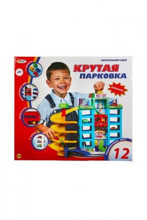 Игровой набор Парковка ИГРАЕМ ВМЕСТЕ. Цвет: голубой