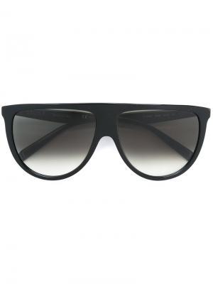 Солнцезащитные очки Thin Shadow Céline Eyewear. Цвет: чёрный