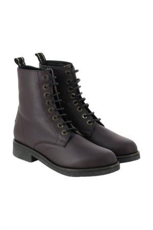 Ботинки BALDAN. Цвет: бордовый