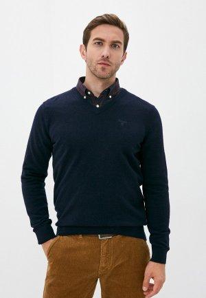 Пуловер Barbour. Цвет: синий
