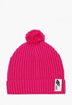 Шапка 4F. Цвет: розовый