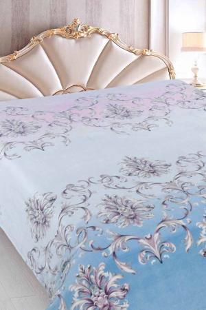 Плед Vel Soft 200x220 Jardin. Цвет: голубой