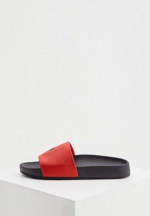 Сланцы Polo Ralph Lauren. Цвет: красный