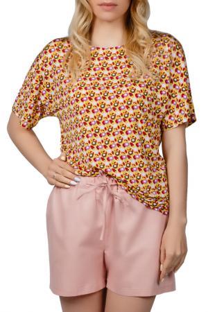 Пижамный комплект Sonett. Цвет: желто-пудровый