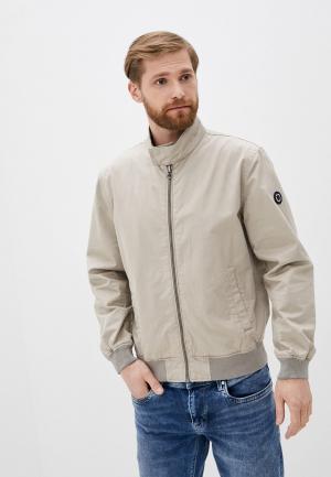Куртка Pepe Jeans. Цвет: бежевый