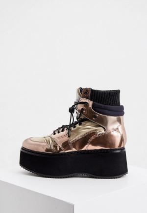 Ботинки Loriblu. Цвет: золотой