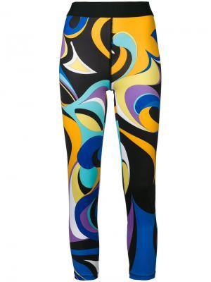 Пляжные брюки Emilio Pucci. Цвет: многоцветный