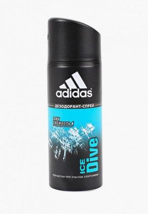 Дезодорант adidas. Цвет: прозрачный
