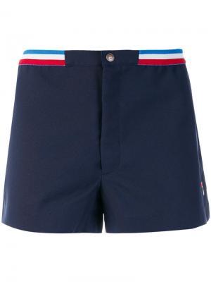 Шорты для тенниса Fila. Цвет: синий
