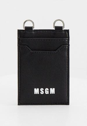Кредитница MSGM. Цвет: черный
