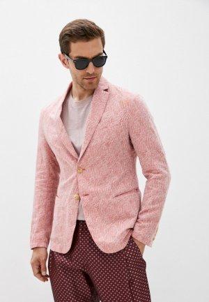 Пиджак Emporio Armani. Цвет: коралловый