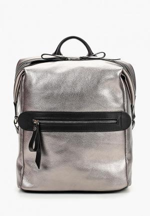 Рюкзак Afina. Цвет: серебряный