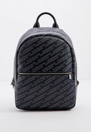 Рюкзак Emporio Armani. Цвет: серый