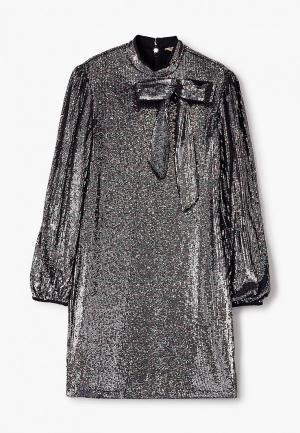 Платье N21. Цвет: серебряный