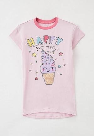 Сорочка ночная Chicco. Цвет: розовый
