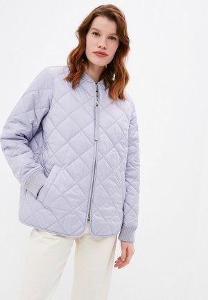Куртка утепленная s.Oliver. Цвет: фиолетовый