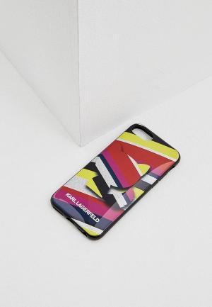 Чехол для iPhone Karl Lagerfeld. Цвет: разноцветный