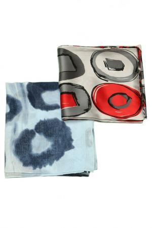 Набор шарфов 2 шт. F.FRANTELLI. Цвет: серый