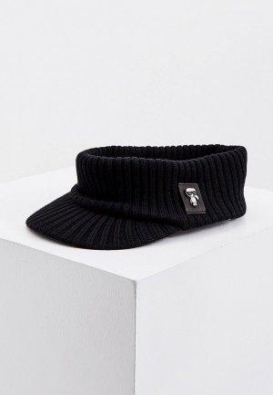 Козырек Karl Lagerfeld. Цвет: черный