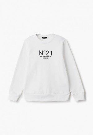 Свитшот N21. Цвет: белый