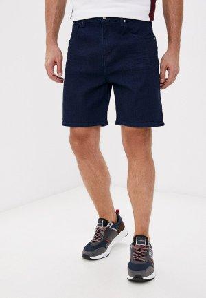 Шорты джинсовые Armani Exchange. Цвет: синий