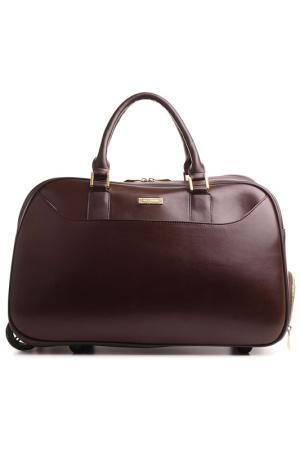 Дорожная сумка FIATO DREAM. Цвет: коричневый