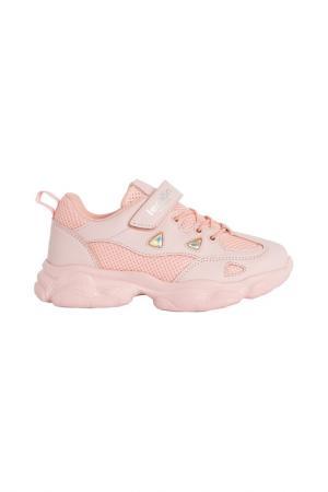 Кроссовки LEMON. Цвет: розовый