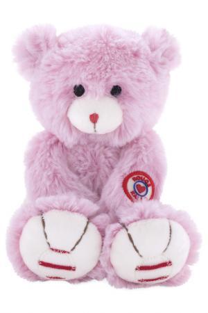Руж - Мишка маленький розовый Kaloo. Цвет: бордовый