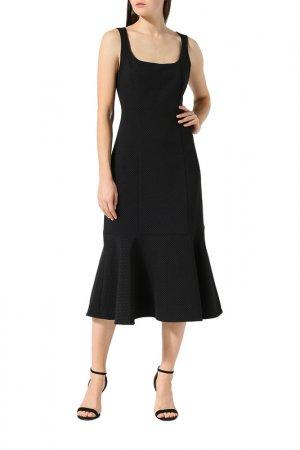 Платье BELUCCI. Цвет: черный в мелкий горох